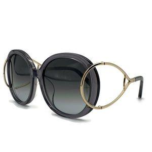 Chloe CE710SA Oval Grey Sunglasses